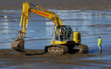 Digger in the sand by gonedigital, photography->shorelines gallery