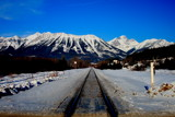 Railway to Mt fernie by bgeek, photography->mountains gallery