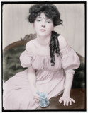 Evelyn Nesbit about 1900 by rvdb, photography->manipulation gallery