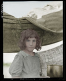 Stepping out of time Migratory child by rvdb, photography->manipulation gallery