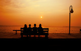 The Bench by SinaiB, Photography->Sunset/Rise gallery