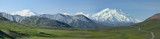Alaskan Range Pano by luckyshot, photography->mountains gallery