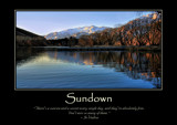 Sundown Poster by LynEve, photography->landscape gallery