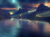 Blue Rain by Foxfire66, Computer->Landscape gallery
