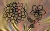 Hummingbird Hymn by Flmngseabass, abstract gallery