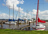 Spring Day At The Yacht Club by PatAndre, photography->boats gallery