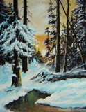 WINTER SUNRISE by nuke88, illustrations->traditional gallery