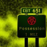 AU Road Signs - Exit 651 by Jhihmoac, illustrations->digital gallery