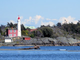 Lighthouse at entrance to Esquimalt, British Columbia, Canad by Cosens, Photography->Lighthouses gallery