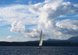 Clouds..sun..sea..sailing by Vickid, photography->skies gallery