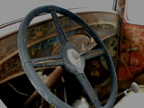 Old Steering Wheel by kimcande, Photography->Transportation gallery