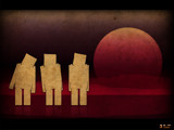 3 guys on the Moon by dar1, Illustrations->Digital gallery