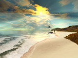 On the Beach by Foxfire66, Computer->Landscape gallery