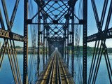 """Blurred Past"" by BulldogsFan, photography->bridges gallery"