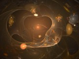 Golden Galaxy by jswgpb, Abstract->Fractal gallery