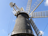 Close up of Heckington Windmill ~ Lincolnshire by salhag71, Photography->mills gallery
