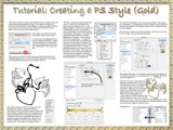 Tutorial-Creating a Style in Photoshop (Gold) by nmsmith, Tutorials gallery
