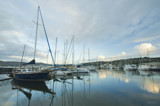 Early Morning Yachts by dmk, photography->boats gallery