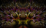 Saffron Thread and Tyrian Lace by tealeaves, Abstract->Fractal gallery