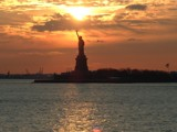 Statue of Liberty by mrwarlow, photography->sunset/rise gallery