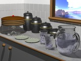 Afternoon Tea by mythica, computer->3d gallery