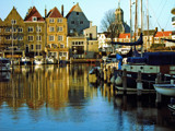 Middelburg (11), Backyard boats 1 by corngrowth, Photography->Architecture gallery