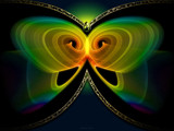 Chaoscope Butterfly II - revised by nmsmith, Abstract->Fractal gallery