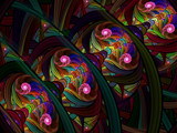 Stained Glass Beauty by jswgpb, Abstract->Fractal gallery