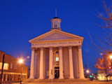 Davidson County Court House - Just before sunrise (color) by haymoose, photography->architecture gallery