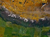 Himalayas from Space by Flurije, space gallery