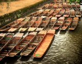 Punts Awaiting by WTFlack, photography->boats gallery