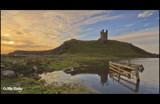 Dunstanburgh Castle pond by Leahcim_62, photography->castles/ruins gallery