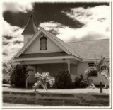 The Old Church at Waimea by trixxie17, contests->b/w challenge gallery
