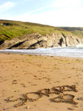 Mwnt Beach Aug 2007 (5 - 'Sorry') by Raziel252, Photography->Shorelines gallery