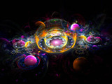 Gumball Universe by razorjack51, Abstract->Fractal gallery
