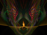 Eternal Flame by jswgpb, Abstract->Fractal gallery