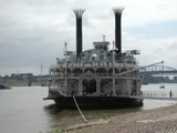 Paddlewheel Riverboat Docked on the Mississippi by jojomercury, photography->boats gallery