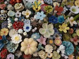 Ceramic Flowers by Starglow, photography->sculpture gallery