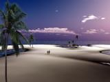 A walk on the beach by Foxfire66, Computer->Landscape gallery