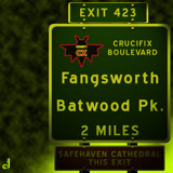 AU Road Signs - Exit 423 by Jhihmoac, illustrations->digital gallery