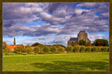 Veere (47), Clouds Over A Little Sleepy Town by corngrowth, Photography->Landscape gallery