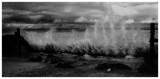 black and white arty splash by JQ, Photography->Shorelines gallery