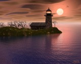 Lighthouse Bay by MrXwild, Computer->Landscape gallery