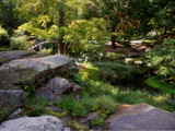 a garden bridge by jeenie11, Photography->Landscape gallery