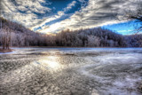 The Frozen and Glorious New River... by nanadoo, photography->water gallery