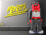Thuggie Fab - Little Monstas II by Jhihmoac, Illustrations->Digital gallery