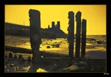 Reculver Silhouette. by Sivraj, photography->castles/ruins gallery