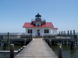 Roanoke Marshes Lighthouse by geolgynut, Photography->Lighthouses gallery