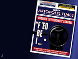 Artopolis Times - Intelligence Scandal by Jhihmoac, illustrations->digital gallery