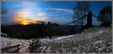 Image: Clifton Suspension Bridge Evening Sun
